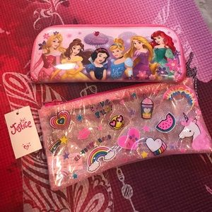 Kids pouch and nail stickers
